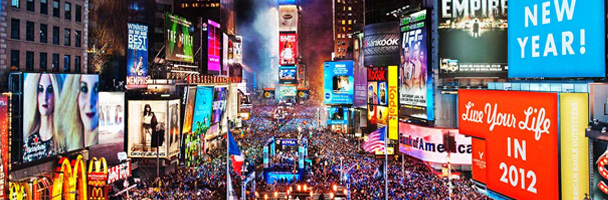 New Year's Eve na Times Square – Estados Unidos