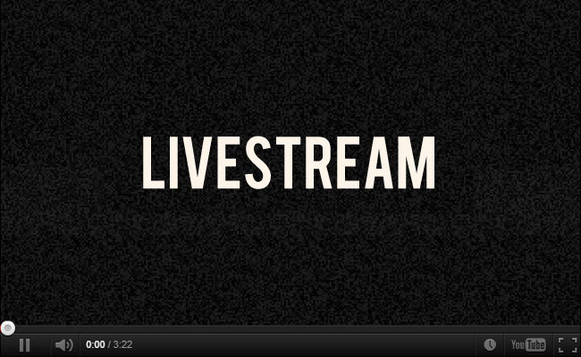 Seu evento livestream